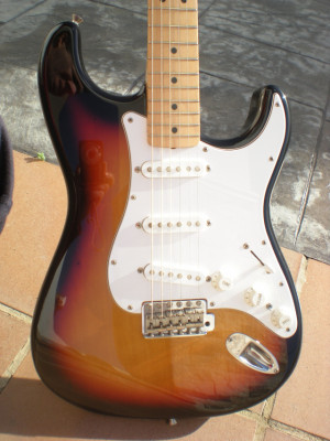 Vendo/Cambio Fender Stratocaster Japan con pastillas USA y mod