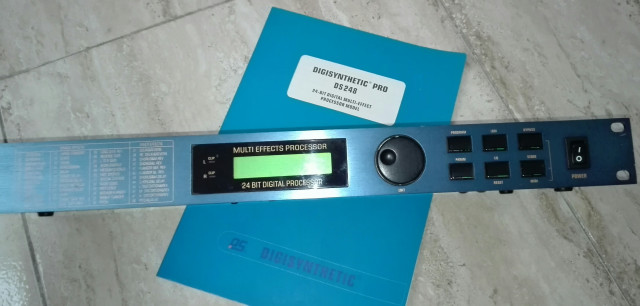 Procesador audio MULTIEFECTOS Digisynthetic PRO DS248 24 bits / 2 in/ 2 out