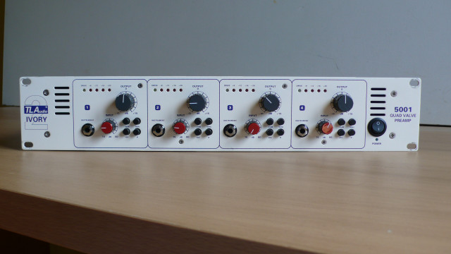 PREVIO TL Audio Ivory 2 Series 5001 QUAD VALVE PREAMP