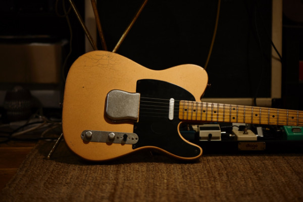 Fender Custom Shop 1952 Telecaster Relic LTD (Copper Metallic)
