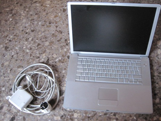 POWERBOOK G4 1, 25 GHZ 15