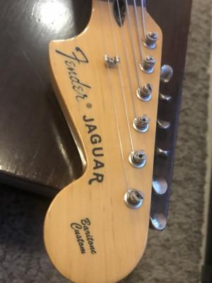 Guitarra Fender Baritone Custom