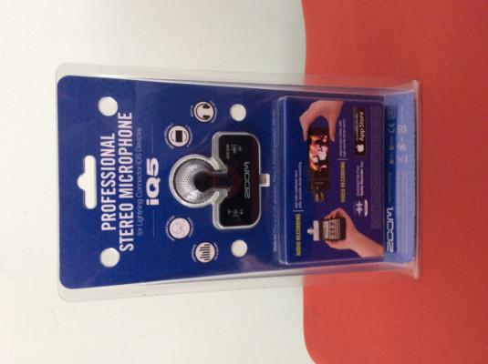 Micrófono Zoom IQ5 para dispositivos IOS