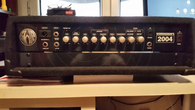 SWR Workingman 2004  Amplificador  Altavoz