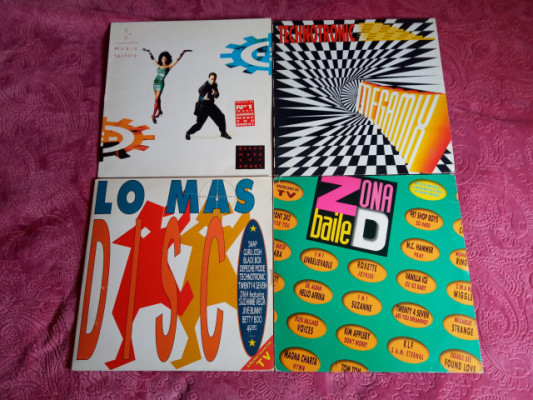 Lote - Vinilos (Euro House / New Beat / Synth-pop)