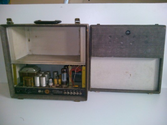 Amplificador BINSON  PRE-MIXER ECHO.