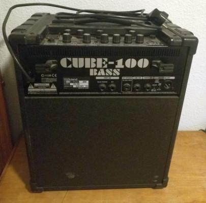 Amplificador BAJO Roland Cube 100 W