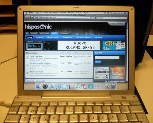 "Apple Powerbook G4 12"" / 1.5 GHz / 1.25 GB Ram"