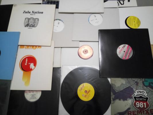 Colección de vinilos Techno, House, Minimal, Rock, Pop...