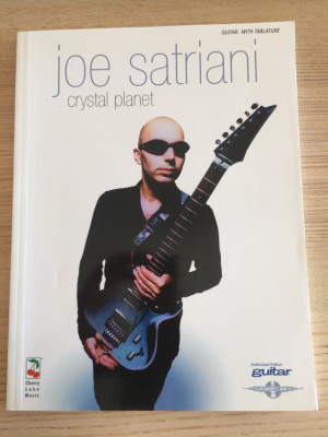Libro de transcripciones: Joe Satriani - Crystal Planet