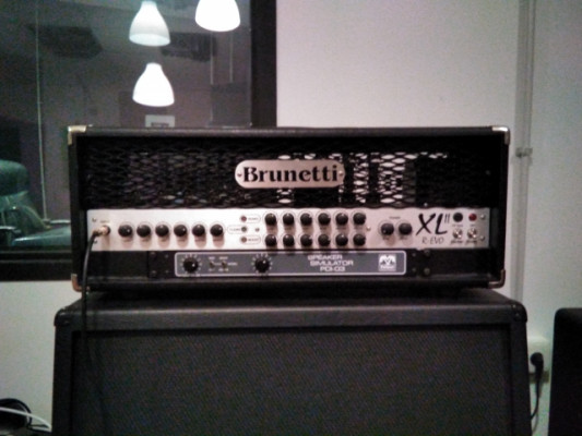 Brunetti XL R Evo por microfonia