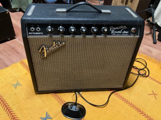 Fender Princeton Reverb de 1966, Blackface todo original - Cambio