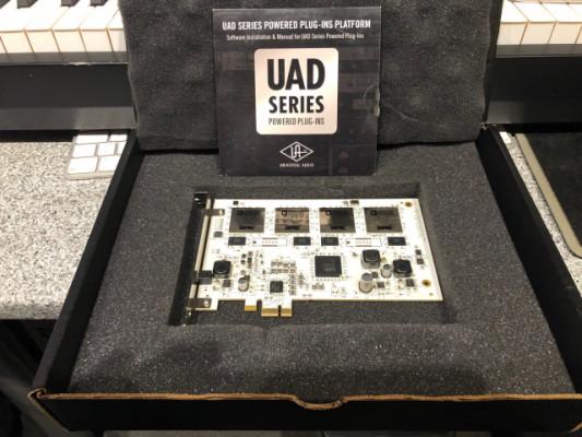 Tarjeta DSP UAD 2 QUAD PCIe mas 21Plugins
