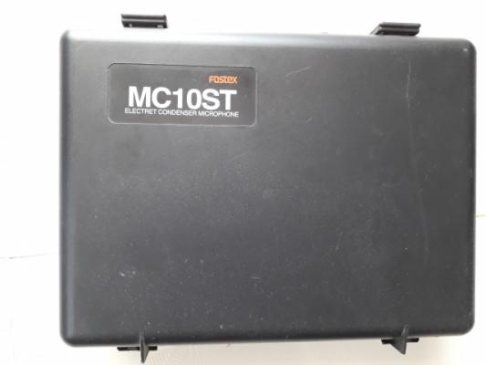 Fostex MC10ST Par de micrófonos Stereo