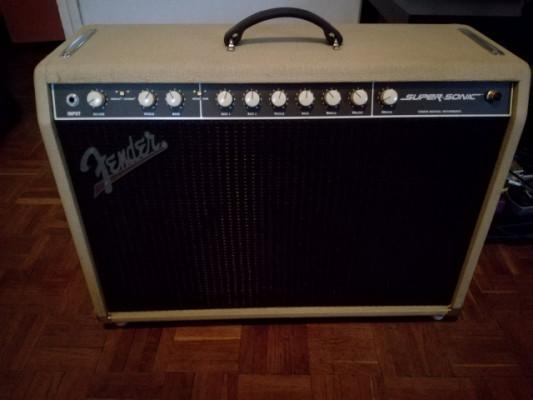 Fender Supersonic 60W Blonde Combo, en muy buen estado.