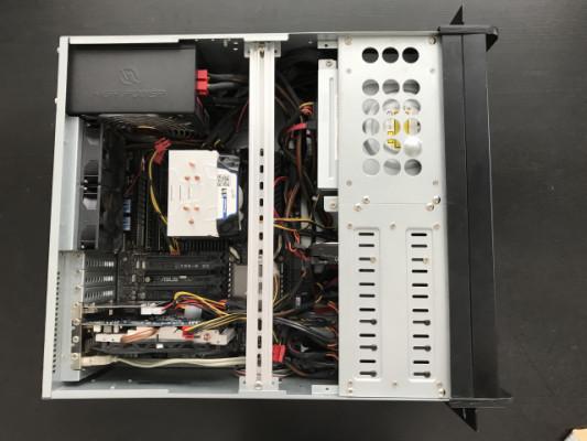 Ordenador Intel Xeon/32 GB RAM/4,75 TB/ASUS X99-E WS