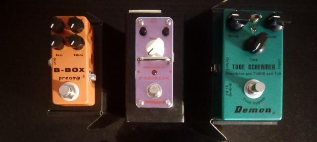 Liquidación pedales de Guitarra (envio gratis)