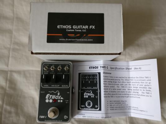 ETHOS TWE-1 pedal OD/Distorsion de Custom Tones COMO NUEVO