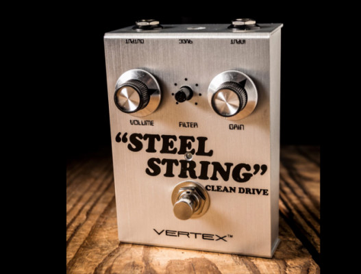 Vertex Steel String Booster/Clean Drive Pedal