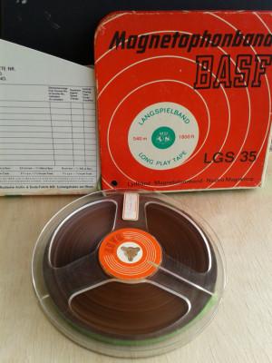 RESERVADAS. 10 cintas para magnetófono de cinta abierta de 18