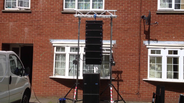 Equipo Line Array dB Tecnologies