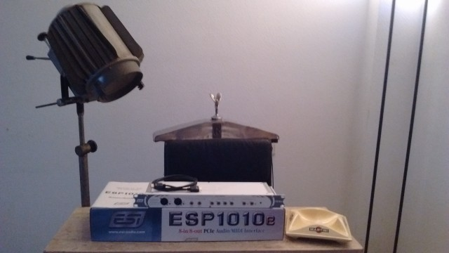 ESP ESI1010e PCI Express Audio Interface 24 bit 96 kHz DRI