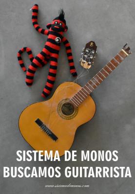 Sistema de Monos buscamos guitarrista