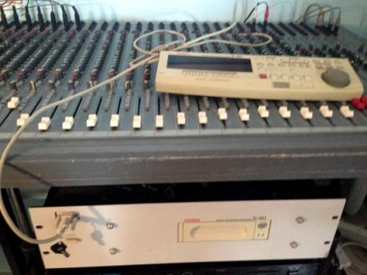 Fostex D80 8 Pistes Grabador Digital a Disco Duro