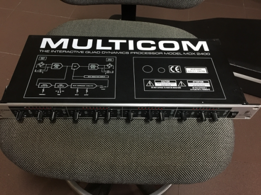 Compresor Multicomp  MDX-2400 Rack