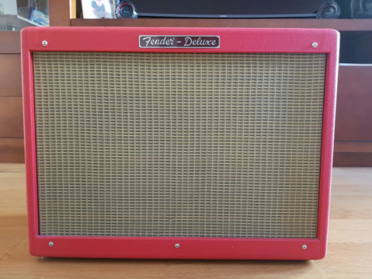 Fender Limited Edition Hot Rod DELUXE TEXAS RED