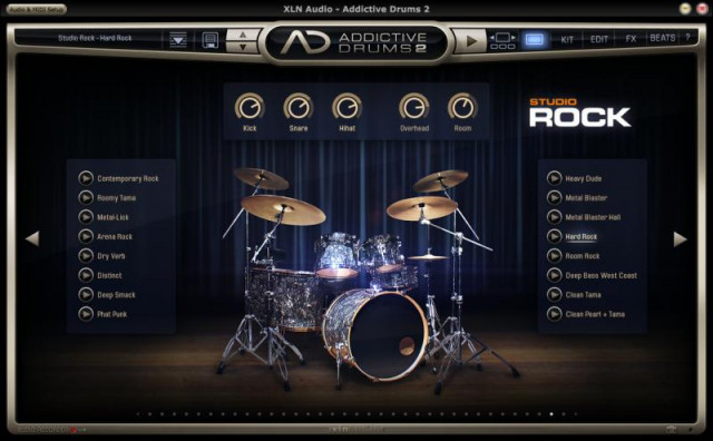 Addictive Drums 2 + Extras