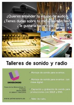 Cursos de sonido y radio