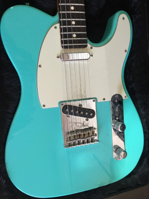 Fender Telecaster Am Standard Matching Headstock Ed.limited