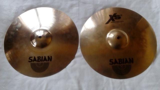 Sabian Xs 20 y Sabian AA Set completo