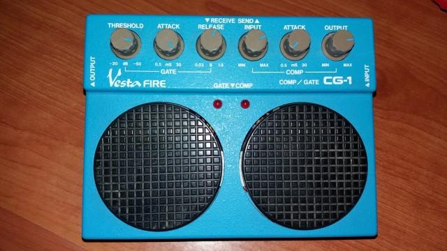 Cambio: Compresor/Noise gate