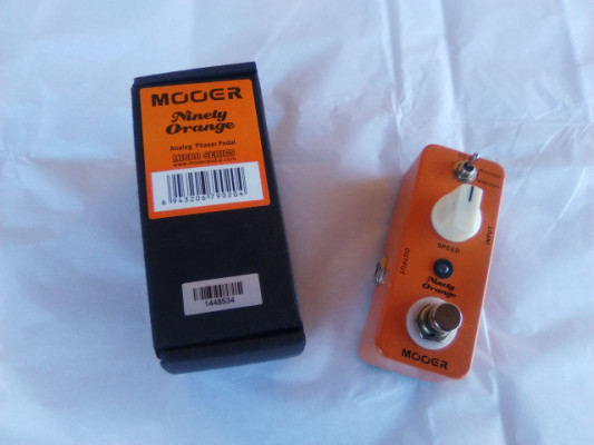 Pedal Phaser Mooer NInety Orange