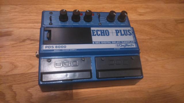 Digitech PDS 8000 Echo Plus (delay/Looper)