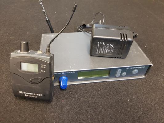 Sistema in-ear Sennheiser EW300 IEM