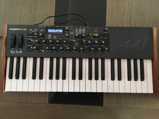 Mopho X4 + Sound editor + Plugin VST