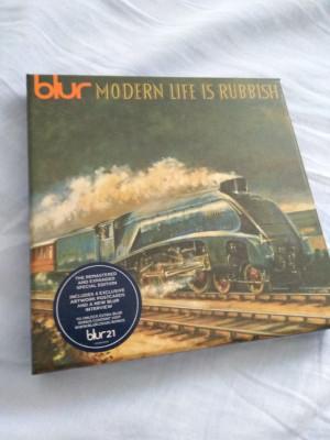 Blur Think Tank 2CD y Modern Life is Rubbish 2CD