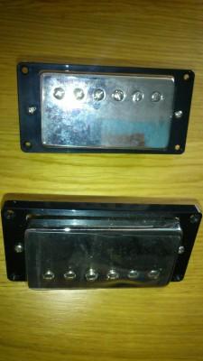 Pastillas: set de humbuckers Tonerider AlNiCo II PAF