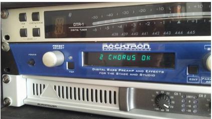 Rocktron blue thunder previo i multiefectos