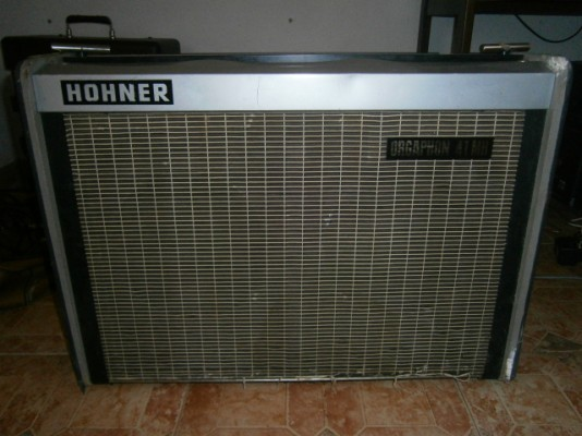 Hohner Orgaphon 41MH (60's) 40w todo valvulas