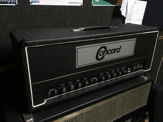 Cabezal Concord AF-125 de los 70's, como un Bassman 135 sin máster