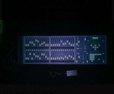 Mesa de luces dmx strand lighting 200