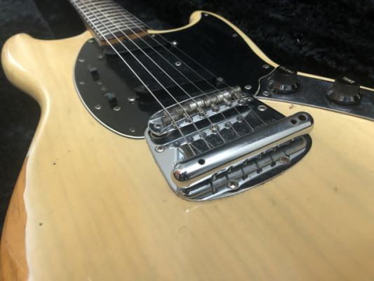 Fender Mustang 1978 Blonde Vintage