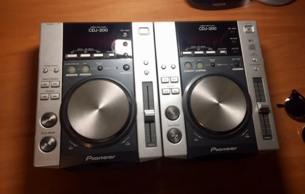 Pioneer CDJ-200 (pareja)