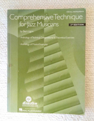 2 Libros de Bert Ligon: 1. Comprehensive Technique 2. Connecting Chords