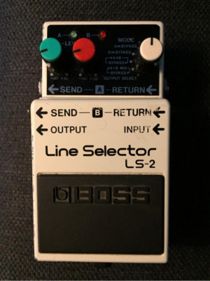 Pedal BOSS Line Selector LS-2
