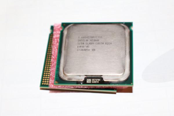 Procesador 2 x INTEL XEON Woodcrest 5150 de 2,66GHZ Core Dúo Macpro 1,1